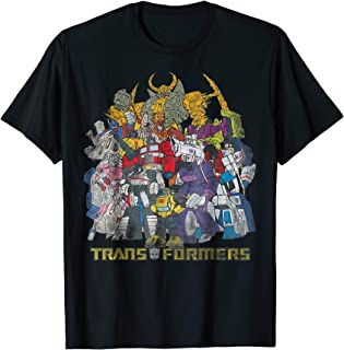 Transformers Group of Robots Graphic T-Shirt