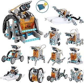 comprar comparacion OFUN Juguete Robot Stem para niños, 12 en 1 Robots Kit de Ciencia Divertido Juego Creativo y DIY Juguetes, Manualidades Re...