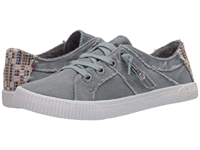 Blowfish Fruit (Dusty Blue Smoke 16 oz Canvas/Nat Diego Weave) Women