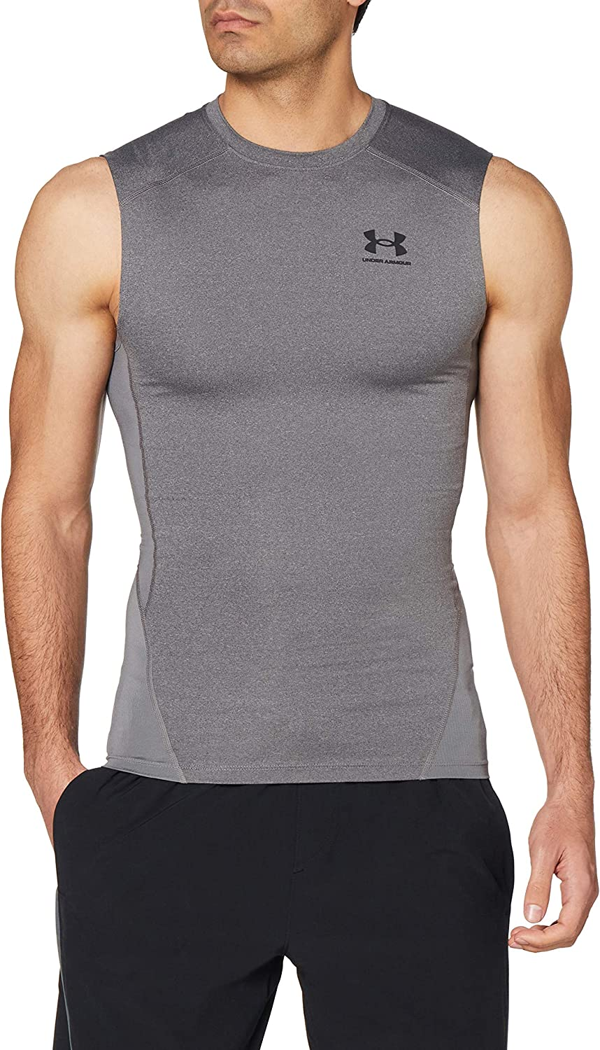 Under Large-scale sale Sale Special Price Armour Men's HeatGear Sleeveless T-Shirt Compression