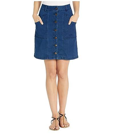 Aventura Clothing Logan Denim Skirt (Indigo Blue) Women