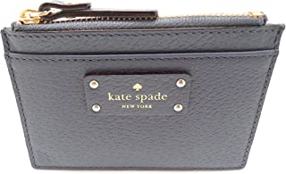 Kate Spade New York Adi Grove Street Leather Card Wallet Coin Purse Diverblue