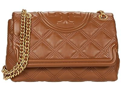 Tory Burch Fleming Soft Convertible Shoulder Bag (Moose) Handbags