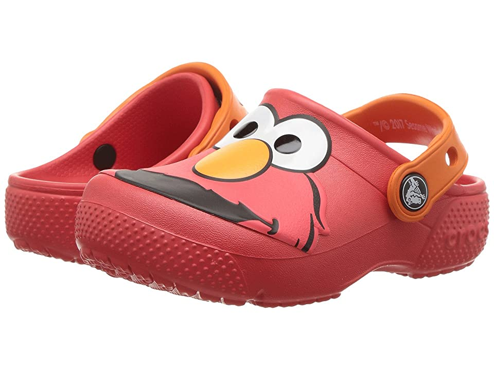 Crocs Kids FunLab Elmo Clog (Toddler/Little Kid) (Flame) Kids Shoes