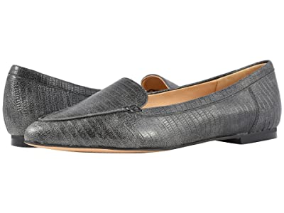 Trotters Ember (Faded Black Lizard Stamped Leather) Women