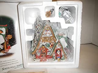 Department 56 North Pole Series Hand Carved Nutcracker Factory