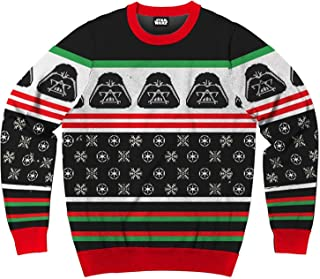 Star Wars Darth Vader Simply Men's Ugly Christmas Sweater