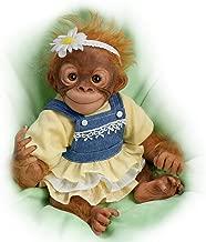 Darling Daisy Lifelike 10 Inch Monkey Doll by Amy Ferreira by The Ashton-Drake Galleries