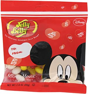 Jelly Belly Mickey Mouse Jelly Beans, Assorted Flavors, 2.8-oz, 12 Pack