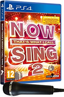 Now That's What I Call Sing 2: Microphone Pack (PS4)