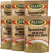 Alessi Split Pea Soup- 6 oz, 6 pk