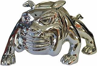 CPW (tm) Bull Dog CHROME Hood Ornament Emblem - Peterbilt Freightliner Kenworth Mack