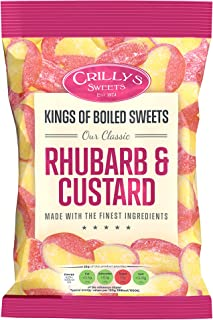 Crillys Rhubarb & Custard (130g) British Sweets/Candy