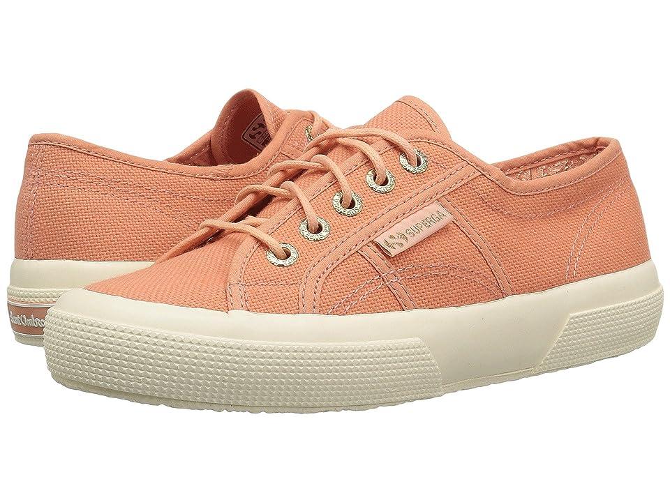 Superga 2750 COTU Sant Ambroeus Sneaker (Peach) Women