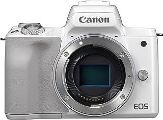 Canon EOS M50 Cuerpo MILC 241 MP CMOS 6000 x 4000 Pixeles Blanco - Cámara Digital (241 MP 6000 x 4000 Pixeles CMOS 4K Ultra HD Pantalla táctil Blanco)