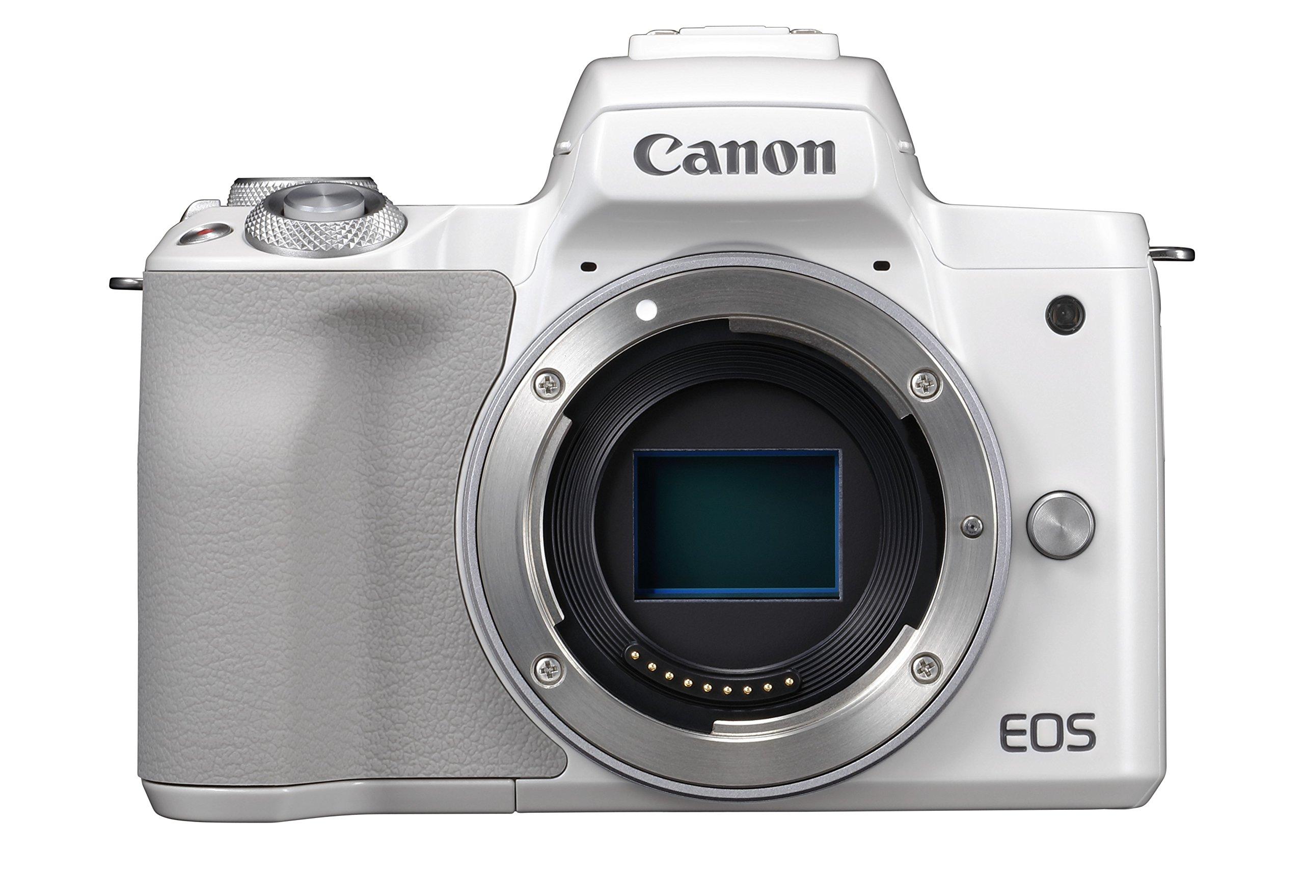 Canon EOS M50 Cuerpo MILC 24,1 MP CMOS 6000 x 4000 Pixeles Blanco ...