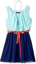 Amy Byer Girls' Big Sleeveless Blouson Dress