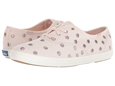 Keds x kate spade new york Champion Dancing Dot (Pale Pink) Women