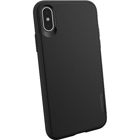 Smartish iPhone Xs/X Slim Case - Gripmunk [Lightweight + Protective] Thin Cover for Apple iPhone 10/10s (Silk) - Black Tie Affair