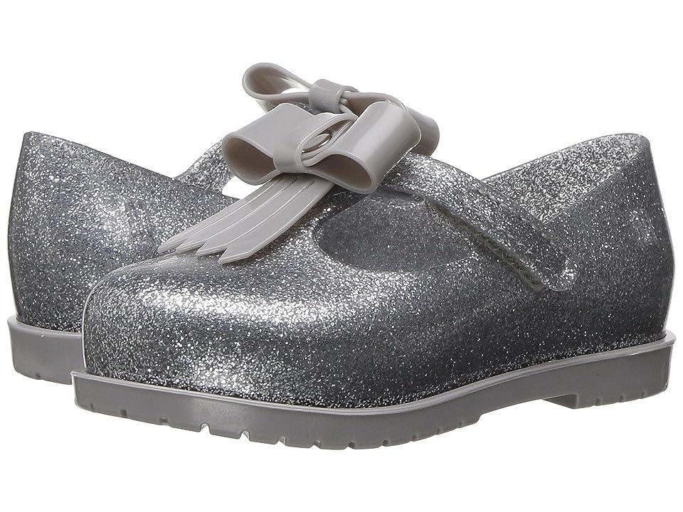 Mini Melissa Mini Classic Baby II (Toddler/Little Kid) (Silver Glitter/Glitter) Girl