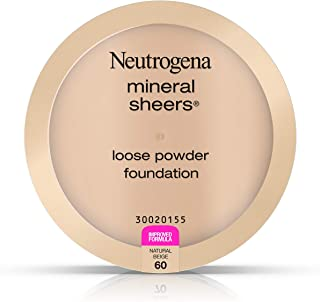 Neutrogena Mineral Sheers Loose Powder Foundation, Natural Beige 60,.19 Oz.