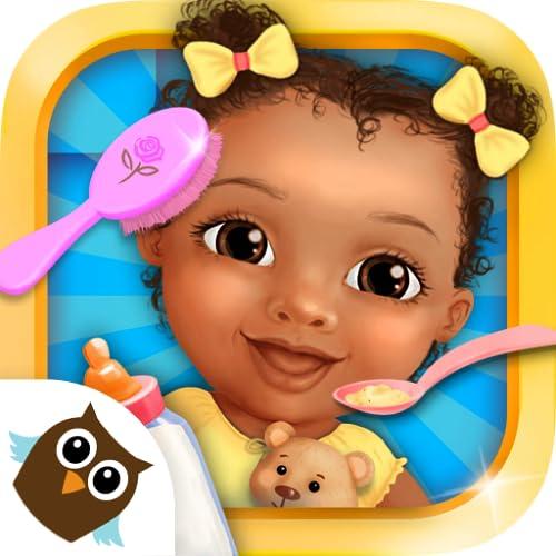 Sweet Baby Girl Daycare 4 - Newborn Nanny Helper & Babysitting Fun