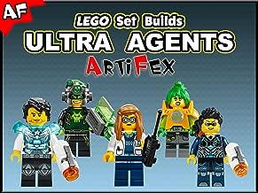 Clip: Lego Set Builds Ultra Agents - Artifex