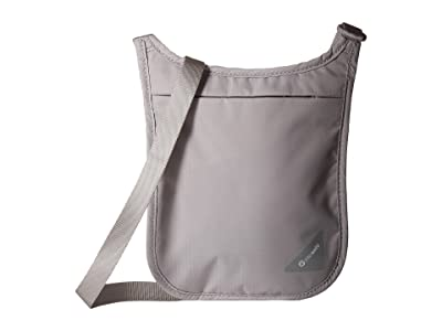 Pacsafe Coversafe V75 RFID Neck Pouch (Grey) Travel Pouch
