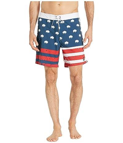 Mountain Khakis Americana Boardshorts (Americana) Men