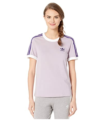 adidas Originals 3-Stripes Tee (Soft Vision) Women