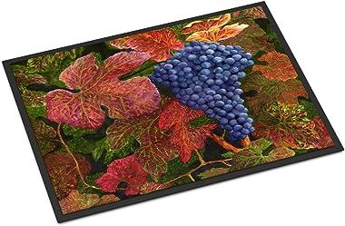 "Caroline's Treasures TMTR0151JMAT Grapes of Joy by Malenda Trick Indoor or Outdoor Mat, 24"" x 36"", Multicolor"
