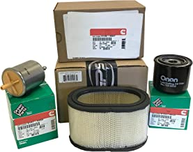 Generator Parts Specialists Tune Up Kit Cummins Onan HDKAK, HDKAJ, HDKAK spec L-P