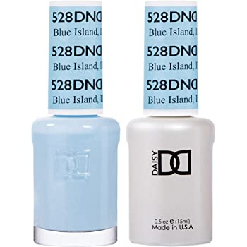 DND Gel Set 491-550 (DND 528 Blue Island)
