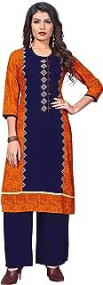 Vbuyz Women's Rayon Straight Kurti(VF-KU-470)