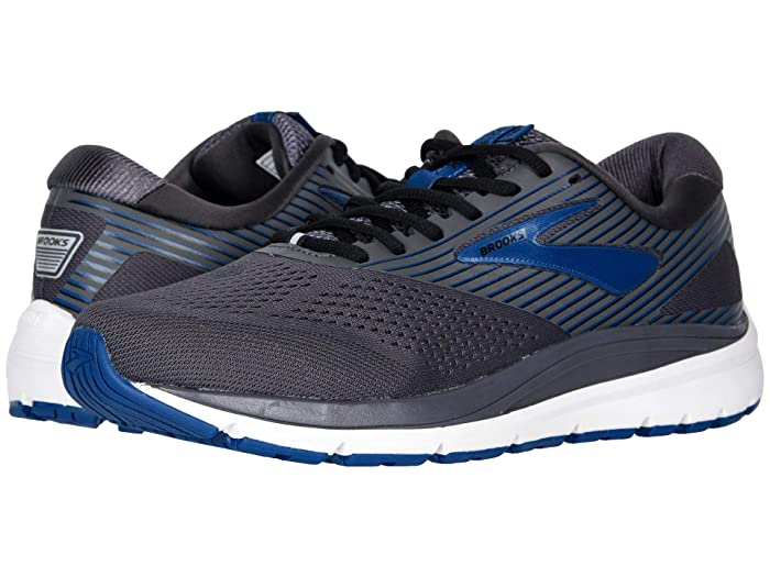 Brooks  Addiction 14 (Blackened Pearl/Blue/Black) Mens Running Shoes