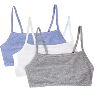 Women's Cotton Pullover Sport Bra(Pack of 3)