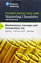 Mastering Chemistry with Pearson eText -- Standalone Access Card -- for Biochemistry: Concepts and Connections (2nd Edition)