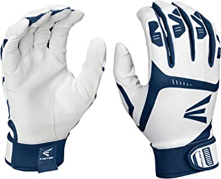 EASTON Gametime Batting Glove Series, Pair, Adult and Youth, 2021, Baseball Softball, Smooth Goatskin Palm, Extra Durable ...