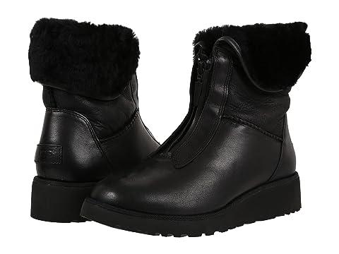 6PM:UGG 女士真皮拉链雪地靴 特价仅售$74.99