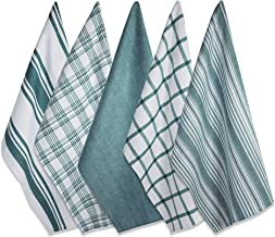 """DII Cotton Luxury Assorted Kitchen Dish Towels, 18 x 28"""" Set of 5, Ultra Absorbent Fast Dry, Professional Grade Tea Towels..."""