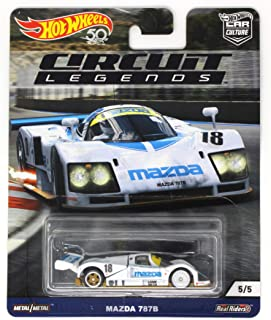 Hot Wheels Car Culture Mazda 787B 5/5 Circuit Legends