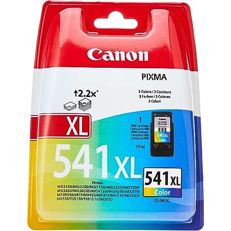 Canon CL-541XL Cartouche d'Encre - Cyan, Magenta, Jaune