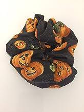 Hair Elastic Scrunchie Halloween Jack-o-Lantern