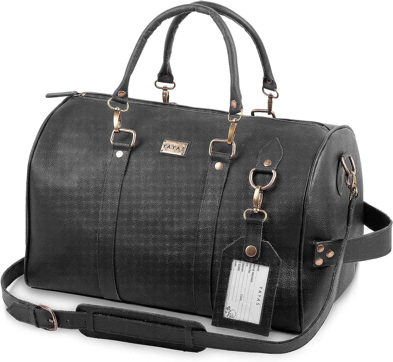 最安値 YAYAS セールSALE%OFF Leather Duffel Junior Carry-On Bag - S Adventure Gym
