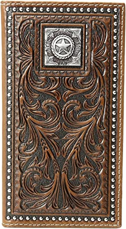 Scroll Nailhead Rodeo Wallet