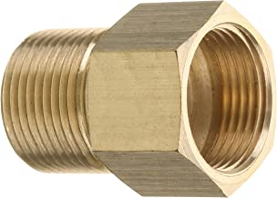 Mingle Pressure Washer Coupler, Metric M22 15mm Male Thread to M22 14mm Female Fitting, 4500 PSI
