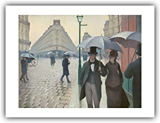 The Ibis Print Gallery - Gustave Caillebotte : ''Paris Street; Rainy Day'' (1877) - Giclee Fine Art Print