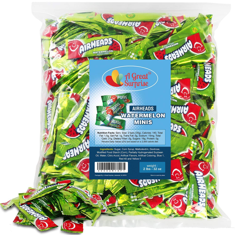 Airheads 100% quality warranty Bulk - Candy Green Air Spasm price W Bars Heads Mini
