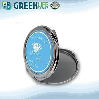 Alpha Delta Pi Round Mirror