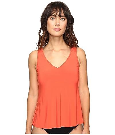 Magicsuit Solids Vanessa Top (Flamingo) Women
